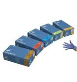 Ръкавици нитрилни без талк (NITRYLEX PF) * виолетови - кут(100 бр.)