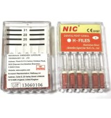 Н -файл стоманени 021 мм * 006(Розов) - 6 бр/оп.
