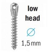 Мини имплант с къса глава - стандартен, D1,5 мм