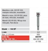 Мандрел - удебелен, за дискова гума (ø 5 x 3)мм