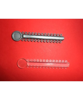 Elastic orthodontic ligature - module 26 pcs.