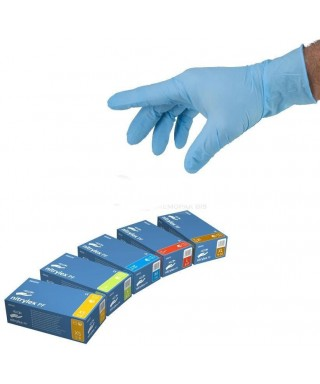 "Nitrile, powder-free examination gloves ""NITRYLEX PF"" - box of 100 pcs."