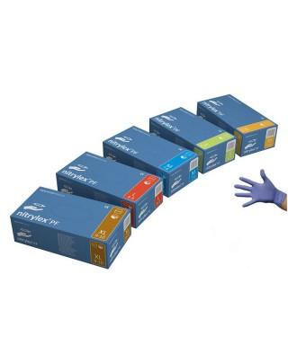"Nitrile, powder-free examination gloves ""NITRYLEX Complete Violet"" - box of 100 pcs."
