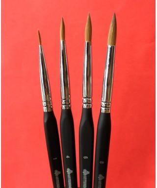 """Natural marten hair Brush for ceramics """"Kolinsky"""""""
