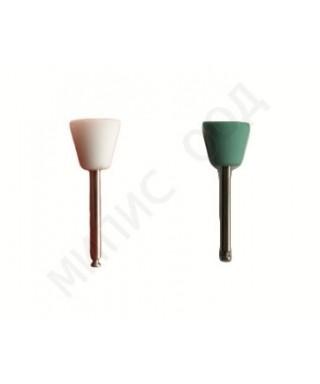 Полирна гума за композити и глас-йономери, голяма чашка - (9 х 8.5)мм