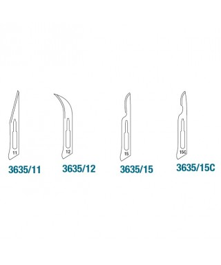 Sterile scalpel blade - 1 pc.