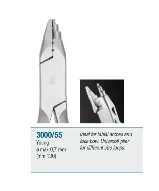 """Клеща универсална за различни размери извивки """"Young"""" - 130мм"""