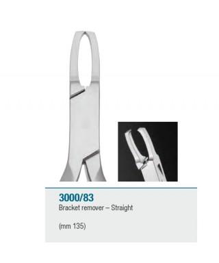 Клеща за сваляне на брекети - права 135 мм