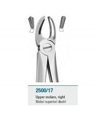 Клеща за горни десни молари
