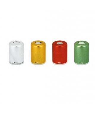 Памукодържател - алуминиев, цветен (ø55 x 75)мм