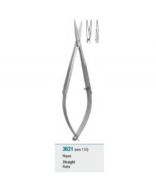 Ножица микрохирургична с пружинно действие, права - 110 мм