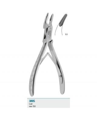 """Клеща за кост """"Луер"""", широка - 135 мм"""