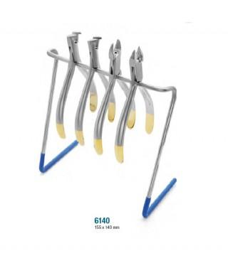 Метална поставка за ортодонтски клещи - (155 х 140)мм