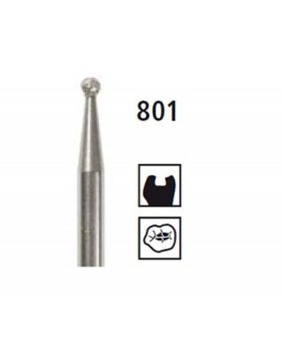 Diamond bur - ball 801, contra angle RA