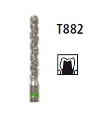 Диамантен борер цилиндър заоблен - серия TURBO T882, турбинен