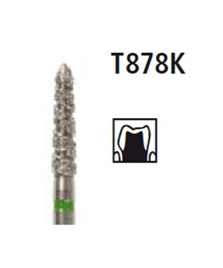 Диамантен борер - торпедо TURBO T878K, турбинен