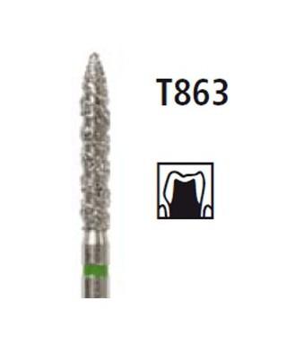 Диамантен борер - пламък TURBO T863, турбинен