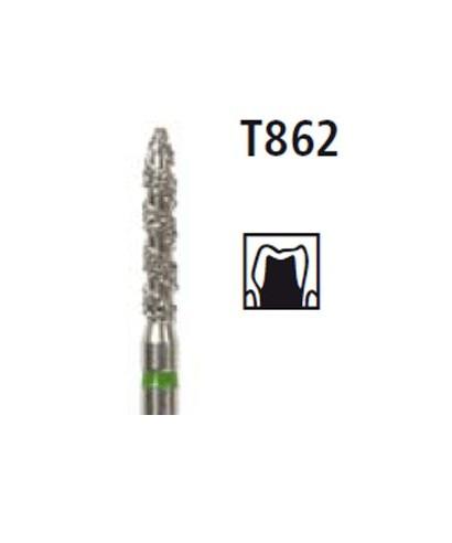 Диамантен борер - пламък TURBO T862, турбинен