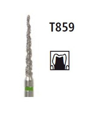 Диамантен борер - конус TURBO T859, турбинен