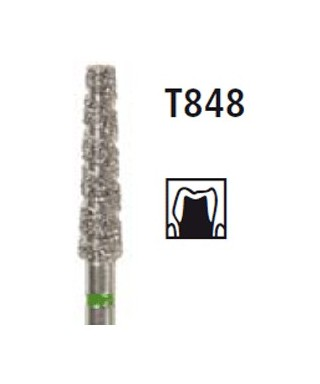 Диамантен борер - пресечен конус TURBO T848, турбинен