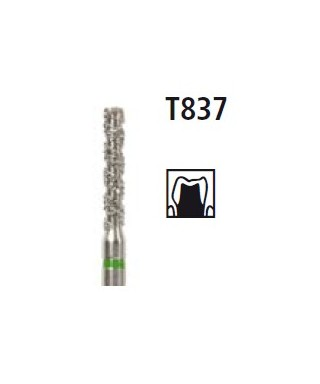 Диамантен борер - дълъг цилиндър серия TURBO T837, турбинен