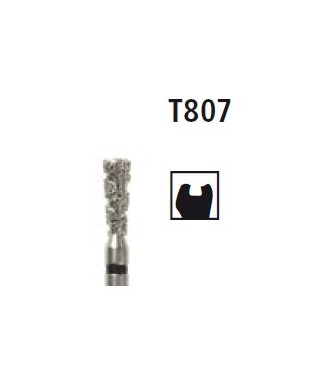 Diamond bur -  inverted cone Turbo T807, turbine FG