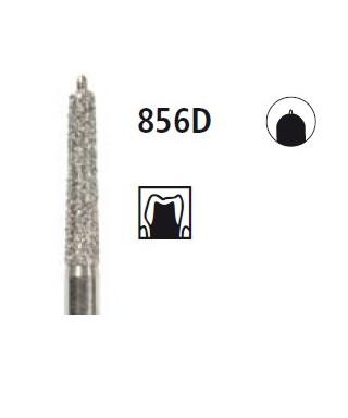 Diamond bur - cone with guide pin 856D, turbine FG
