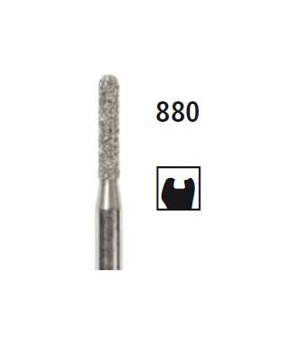Диамантен борер - заоблен цилиндър 880, турбинен