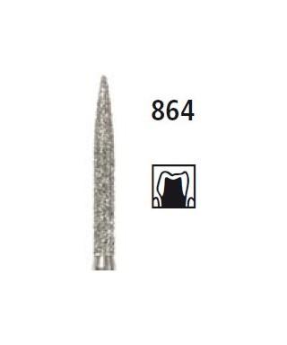 Диамантен борер - пламък 864, турбинен