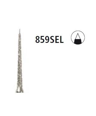 Диамантен борер - конус с предпазващ връх 859 SEL, турбинен