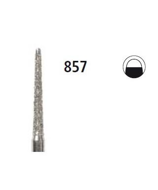 Диамантен борер - конус с неактивен връх 857, турбинен