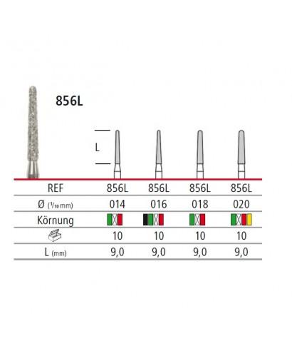 Диамантен борер - дълъг конус 856L, турбинен