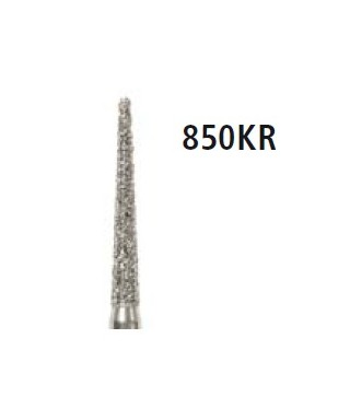 Diamond bur - cone round edge 850KR, turbine FG