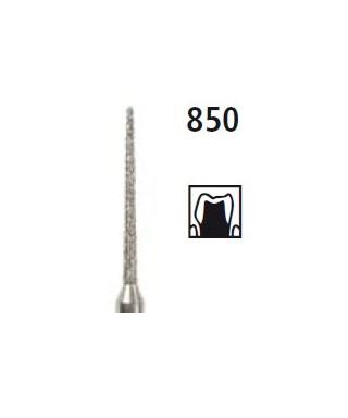 Диамантен борер - заоблен конус 850, турбинен
