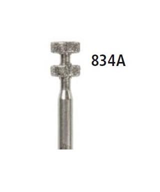 Диамантен борер - двоен маркировач 834A, турбинен