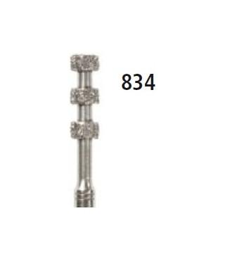 Diamond bur -  depth marker 834, turbine FG