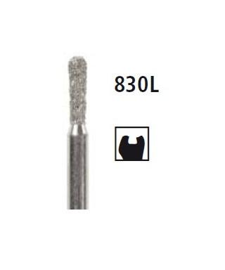 Diamond bur - long pear 830L, turbine FG