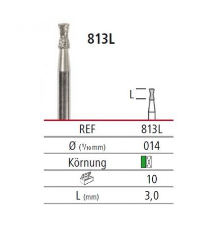 Диамантен борер - DIABOLO LONG 813 L, турбинен