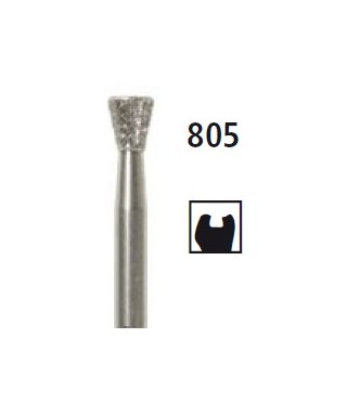 Диамантен борер - обратен конус 805, турбинен