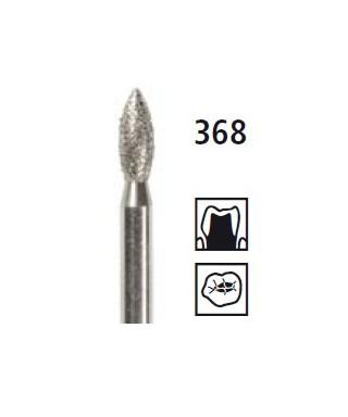 Диамантен борер - пламък 368, турбинен