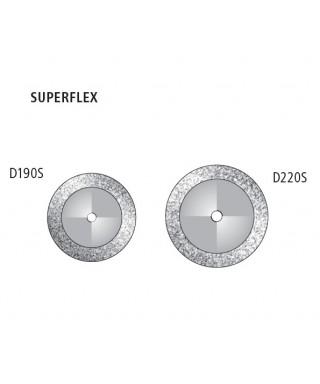 """Диамантен сепаратор """"Superflex"""" - двустранен фин (червен)"""