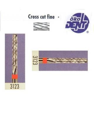 Твърдосплавна фреза червена*1, (ø 2,3мм) - HF3123