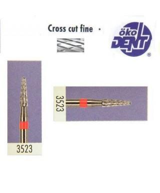 Твърдосплавна фреза червена*1, (ø 2,3 х 8)мм - HF3523