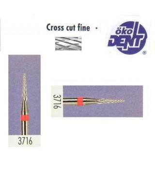Твърдосплавна фреза червена*1, (ø 1,6 х 8)мм - HF3716