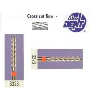 Твърдосплавна фреза червена*1, (ø 2,3 х 16)мм - HF3323