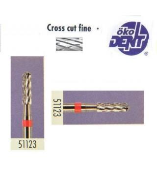 Твърдосплавна фреза червена*1, (ø 2,3 х 8)мм - HF51123