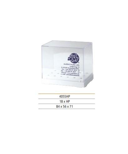 Кутийка с капак, пластмасова за борери (прав наконечник)