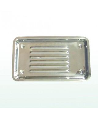 Оребрена тавичка алпака (Китай) - (220 x 120)мм