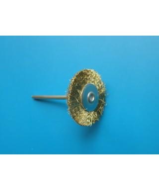 Монтирана метална, месингова четка (Китай)