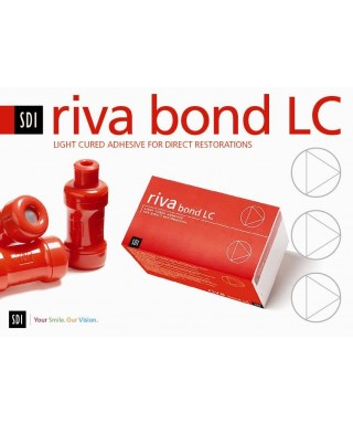 Light cured adhesive for direct restorations RIVA BOND LC, capsule